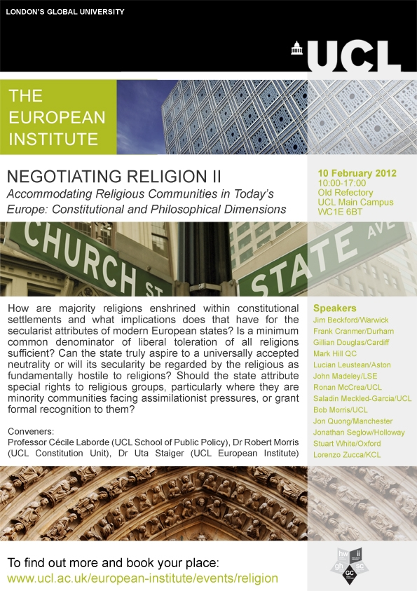 Negotiating Religion workshop
