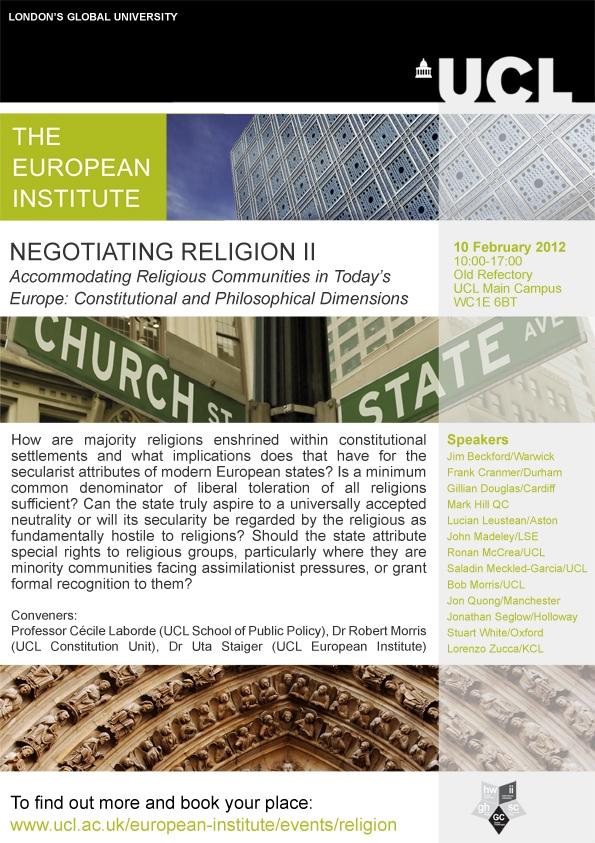 Negotiating Religion workshop