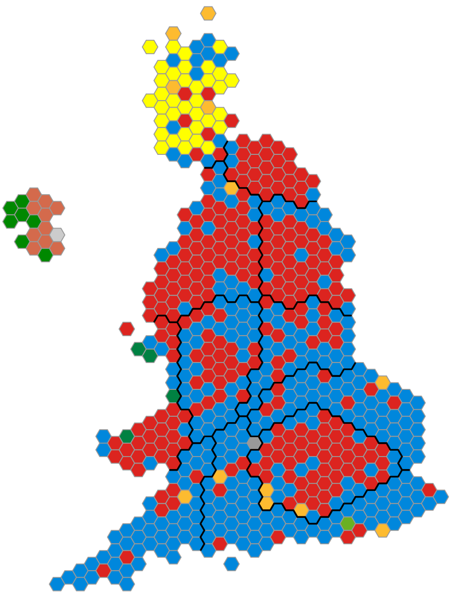 Map Of Uk Mps.Beating The Boundaries The Stalled Debate On How To Draw Up The