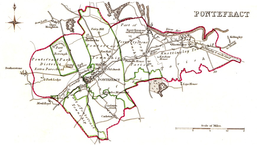 Pontefract_Parliamentary_Borough_1832
